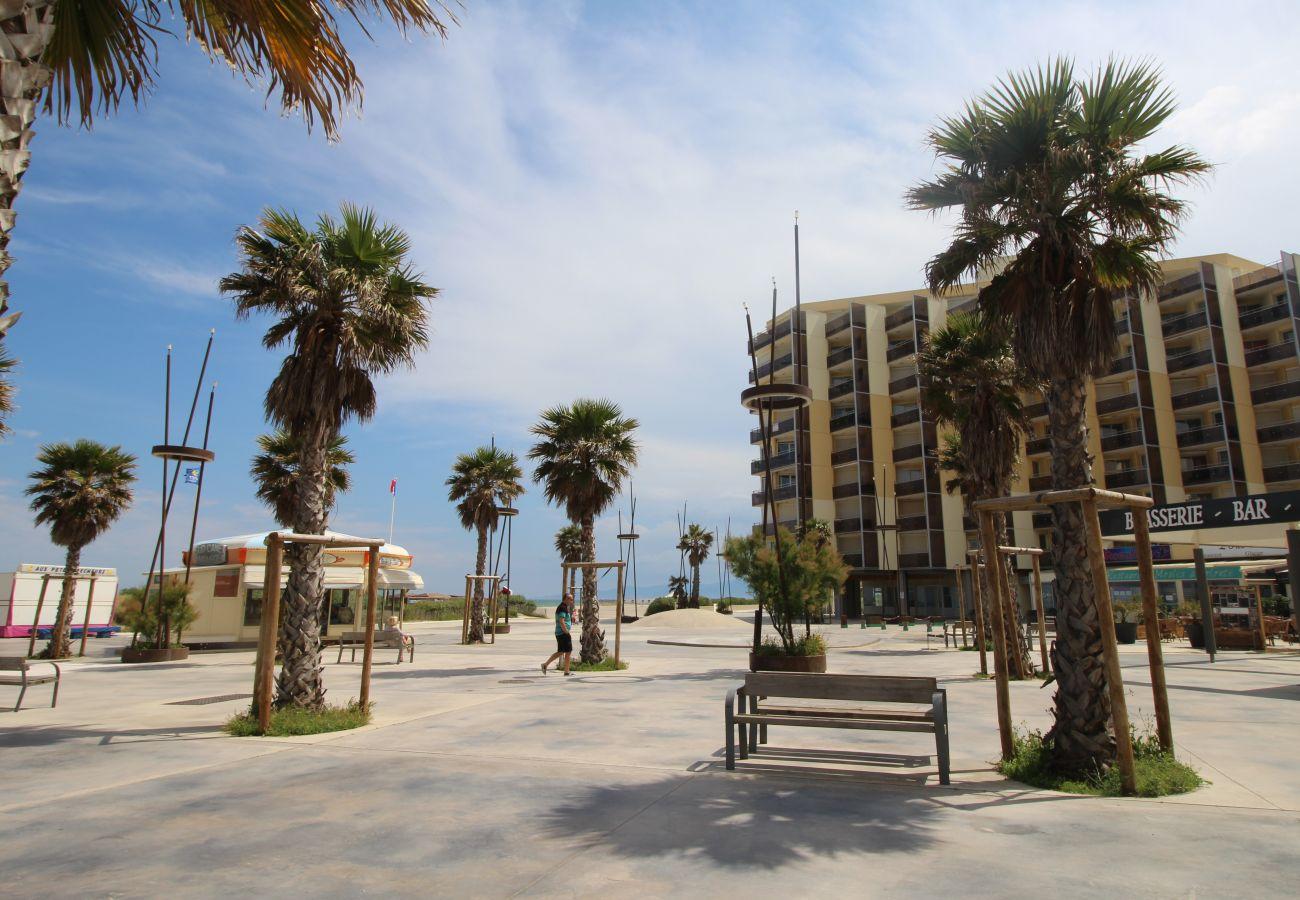 Ferienwohnung in Canet-en-Roussillon - T2 à 100m de la plage
