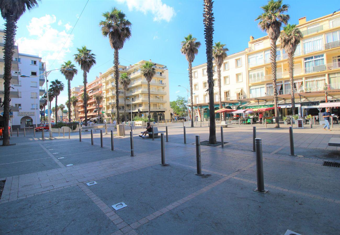 Ferienwohnung in Canet-en-Roussillon - 2 pièces dans le centre avec parking