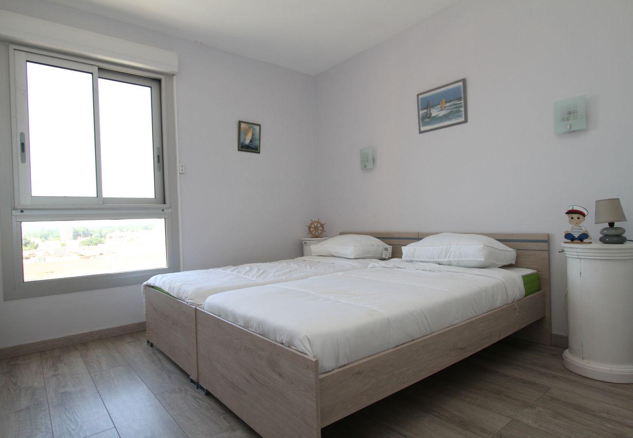 Ferienwohnung in Canet-en-Roussillon - Appartement Vue Mer 6 personnes