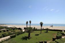 Ferienwohnung in Canet-en-Roussillon - Appartement for 4 / Front beach