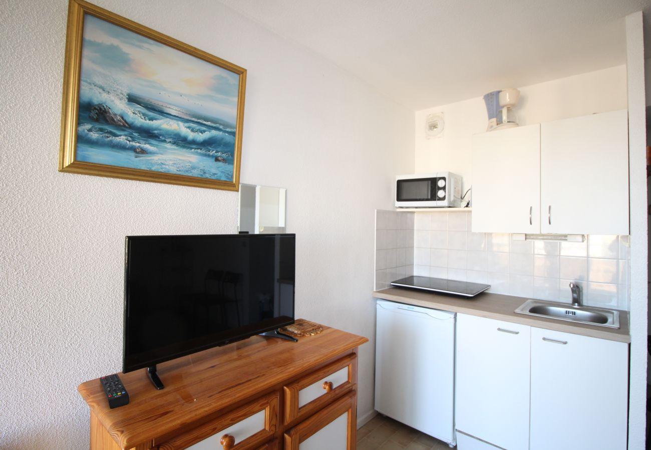 Apartamento en Canet-en-Roussillon - Appartement 2 Pièces à Canet avec Vue Mer
