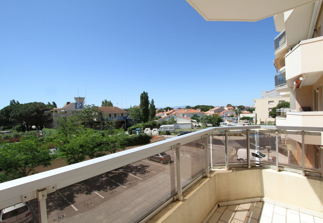 Apartamento en Canet-en-Roussillon - 1 bedroom apartment 3 stars in front of the beach