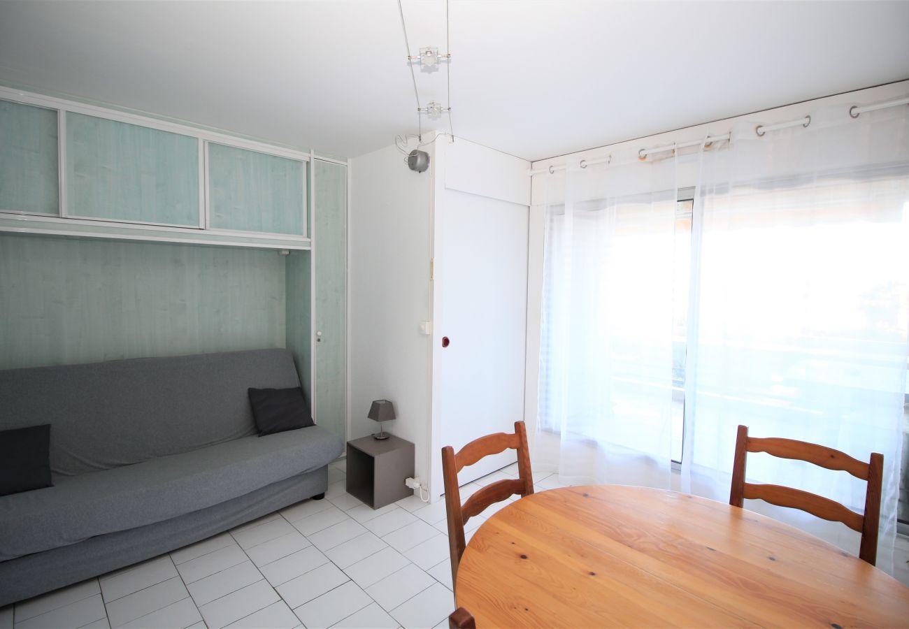 Apartamento en Canet-en-Roussillon - Studio cabine belle vue mer