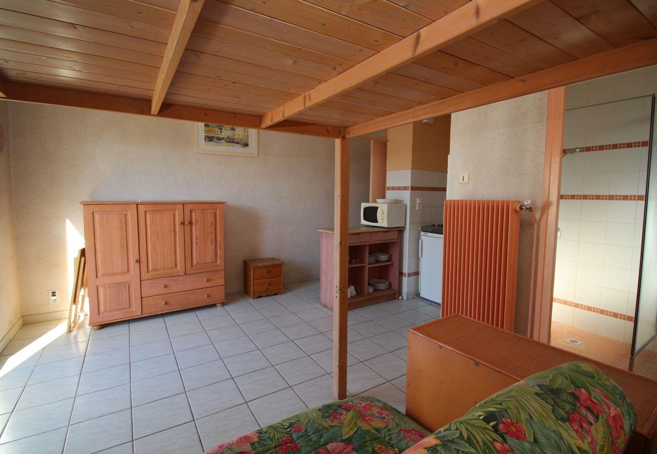 Apartamento en Canet-en-Roussillon - Studio 4 couchages à 600 m de la plage
