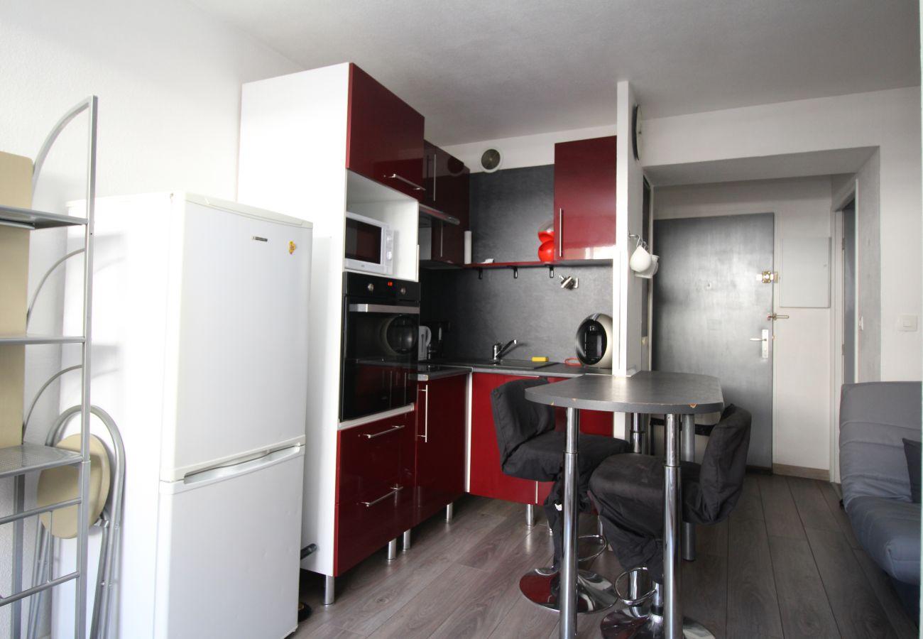 Apartamento en Canet-en-Roussillon - 2 pièces à 200m de la plage