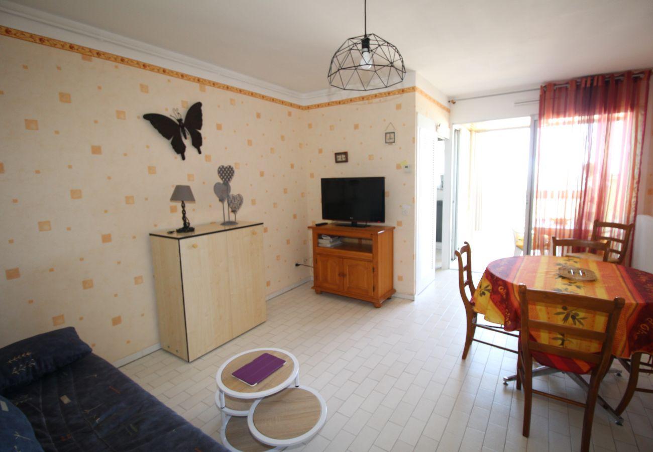 Apartamento en Canet-en-Roussillon - Magnifique T2 avec vue mer et parking