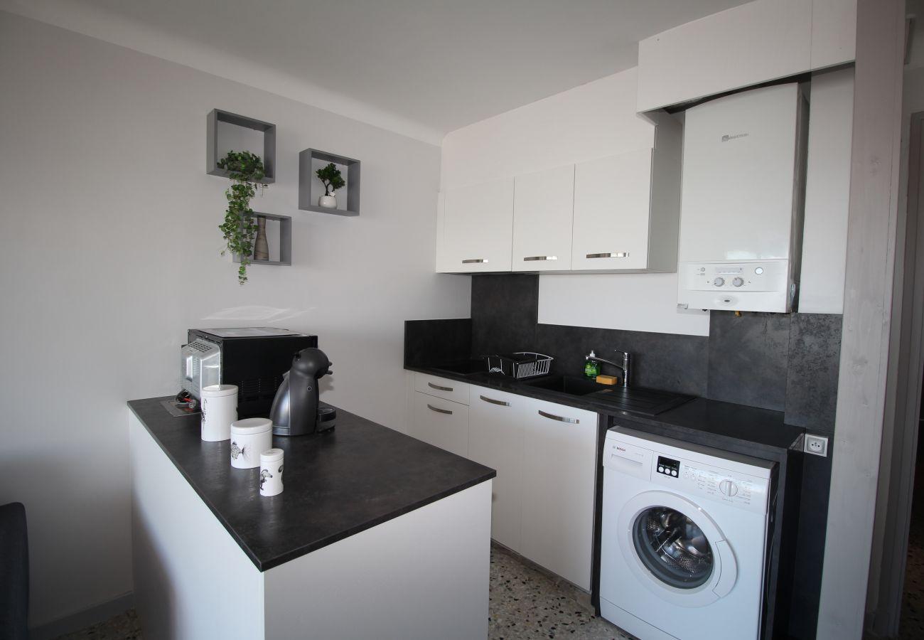 Apartamento en Canet-en-Roussillon - Jolie T2 avec vue sur la Marina