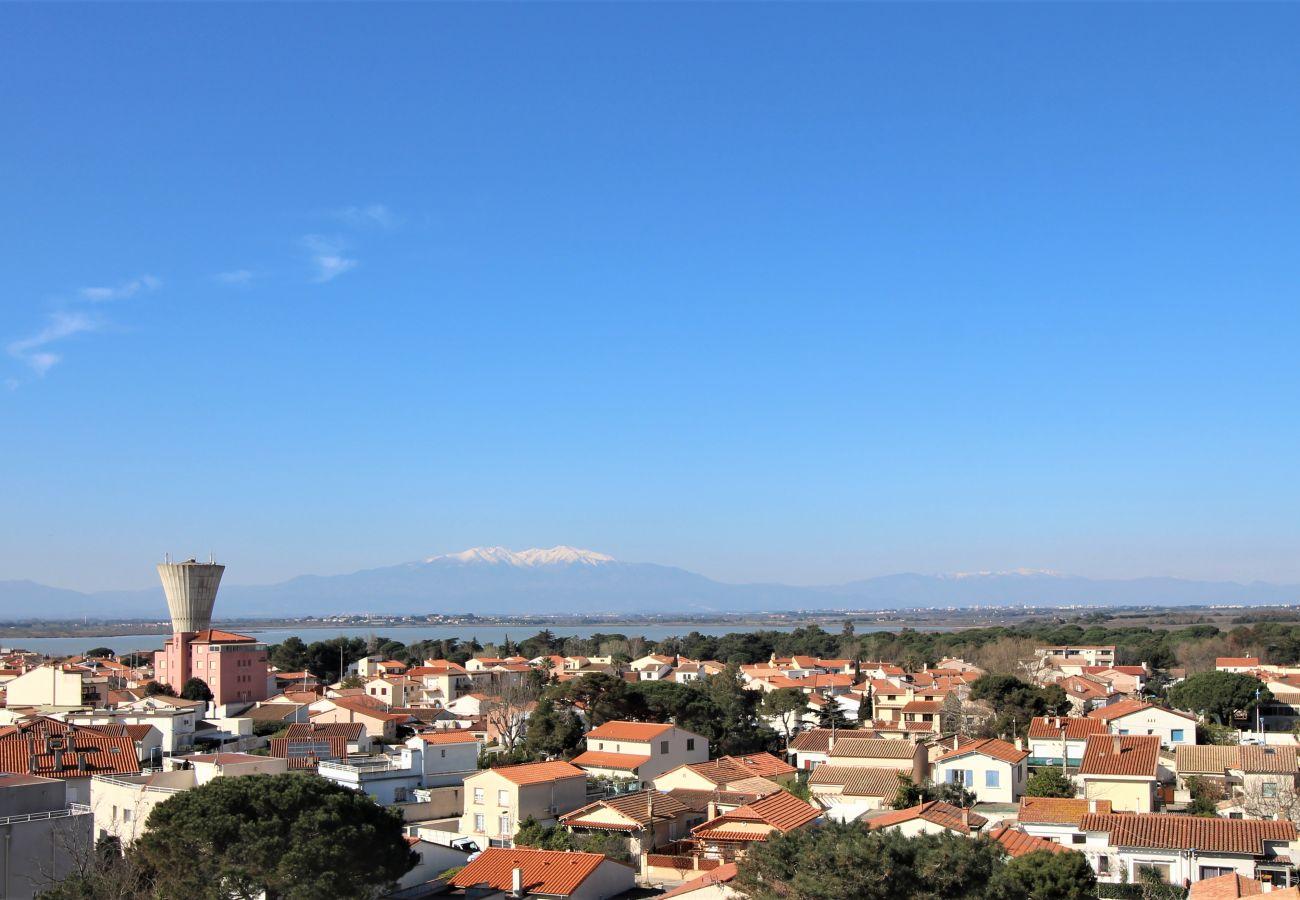 Apartamento en Canet-en-Roussillon - Appartement 2 chambres avec vue mer et parking