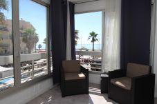Appartement à Canet-en-Roussillon - Grand studio avec vue mer dans le centre