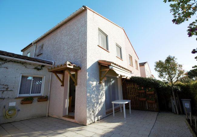 à Canet-en-Roussillon - Villa 6 couchages proche de la mer