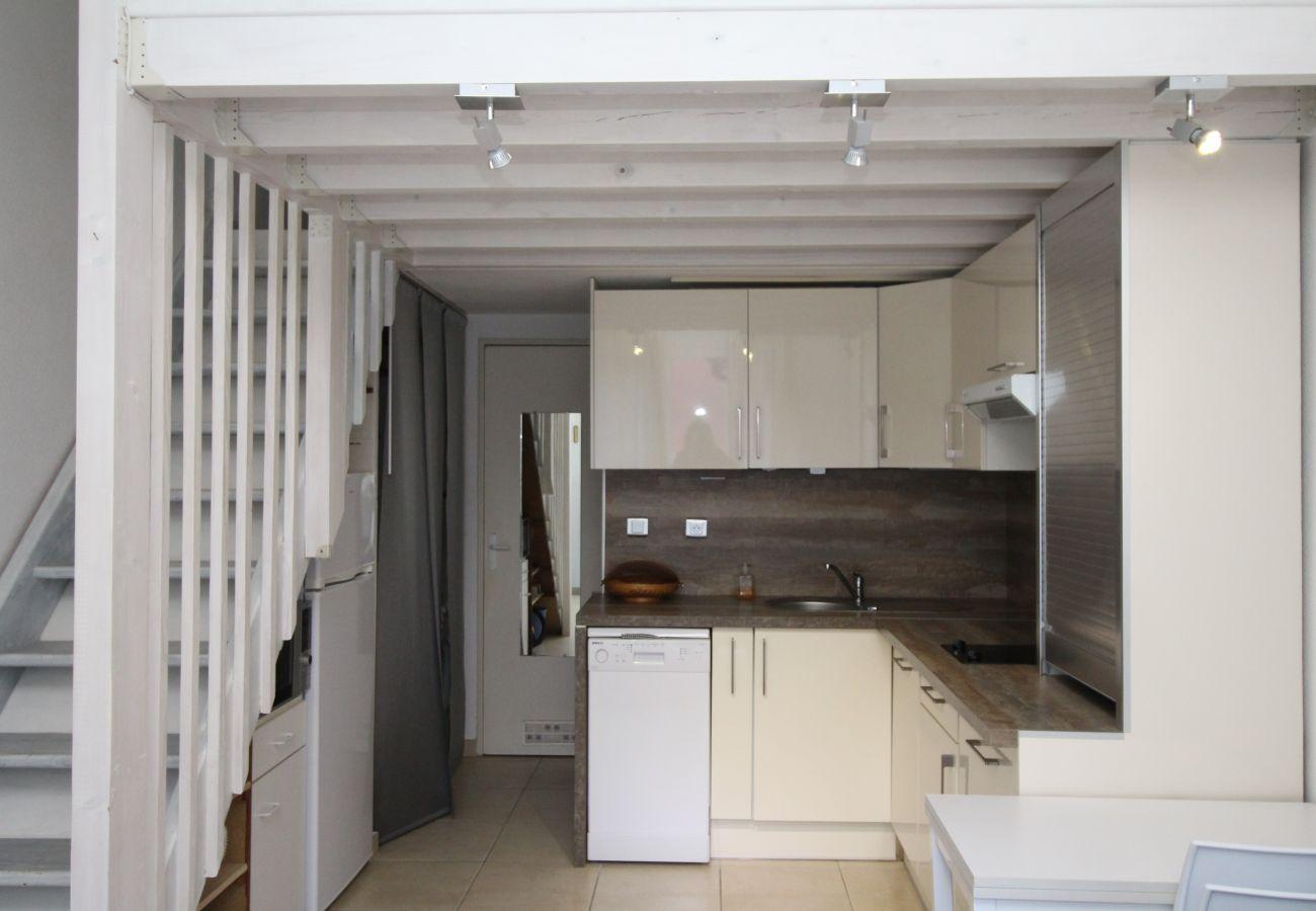 Maison à Canet-en-Roussillon - Maisonette T2 avec piscine et parking