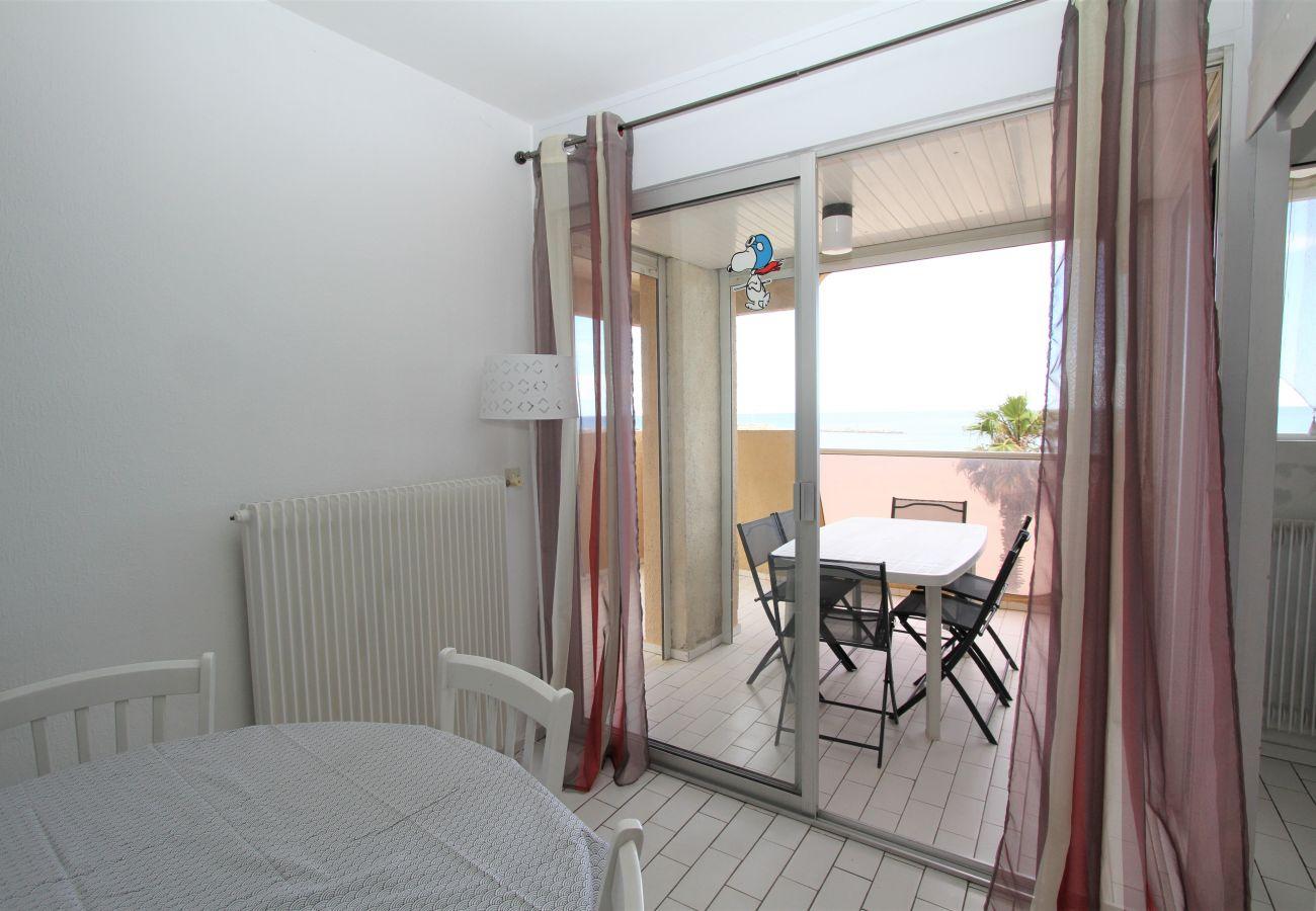 Appartement à Canet-en-Roussillon - 3 pièces vue mer + stationnement privatif