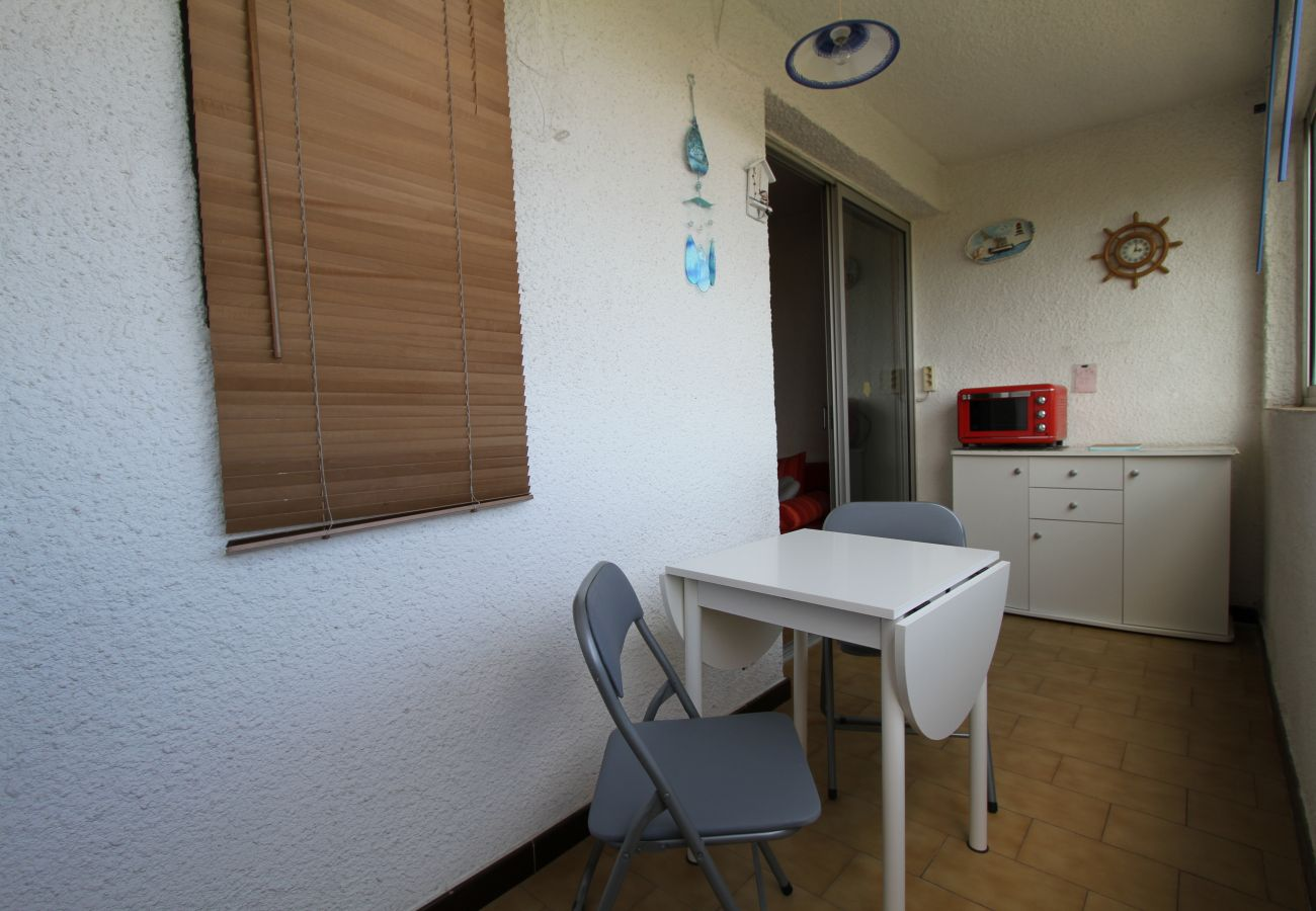 Appartement à Canet-en-Roussillon - 2 pièces loggia vue mer + parking