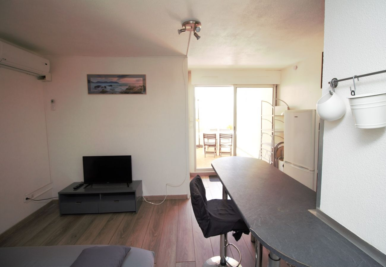 Appartement à Canet-en-Roussillon - 2 pièces à 200m de la plage