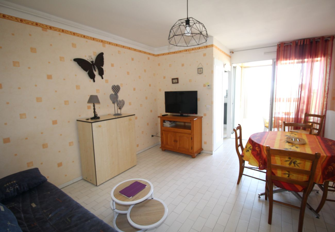 Appartement à Canet-en-Roussillon - Magnifique T2 avec vue mer et parking