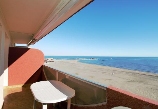 à Canet-en-Roussillon - Appartement T2 avec vue mer et parking